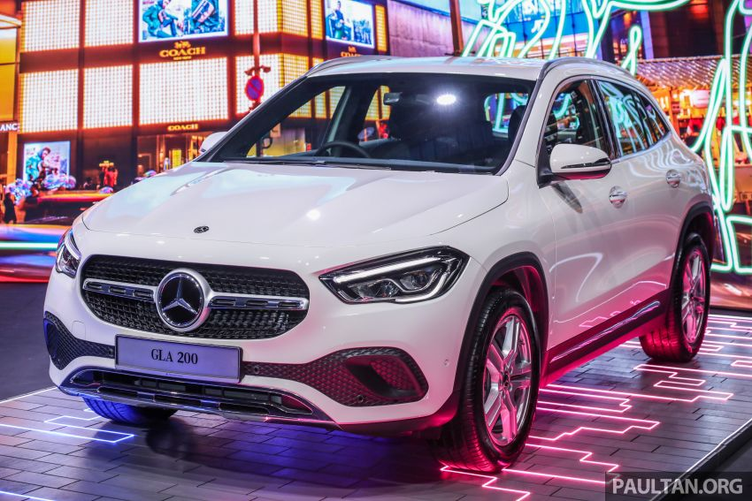 2021 Mercedes-Benz GLA launched in Malaysia – H247 GLA200, GLA250 AMG Line, from RM244k without SST Image #1223474