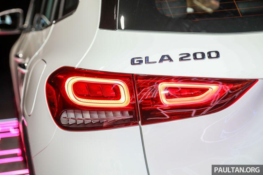 Mercedes-Benz GLA H247 2021 kini di M'sia — GLA 200, GLA 250 AMG Line, dari RM244k tanpa SST Image #1223710