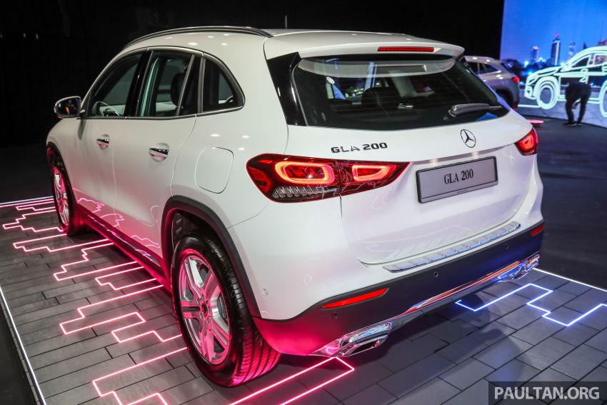 2021 Mercedes-Benz GLA launched in Malaysia – H247 GLA200, GLA250 AMG Line, from RM244k without SST Image #1223475