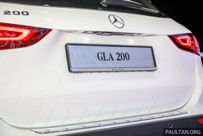 Mercedes-Benz GLA H247 2021 kini di M'sia — GLA 200, GLA 250 AMG Line, dari RM244k tanpa SST Image #1223712
