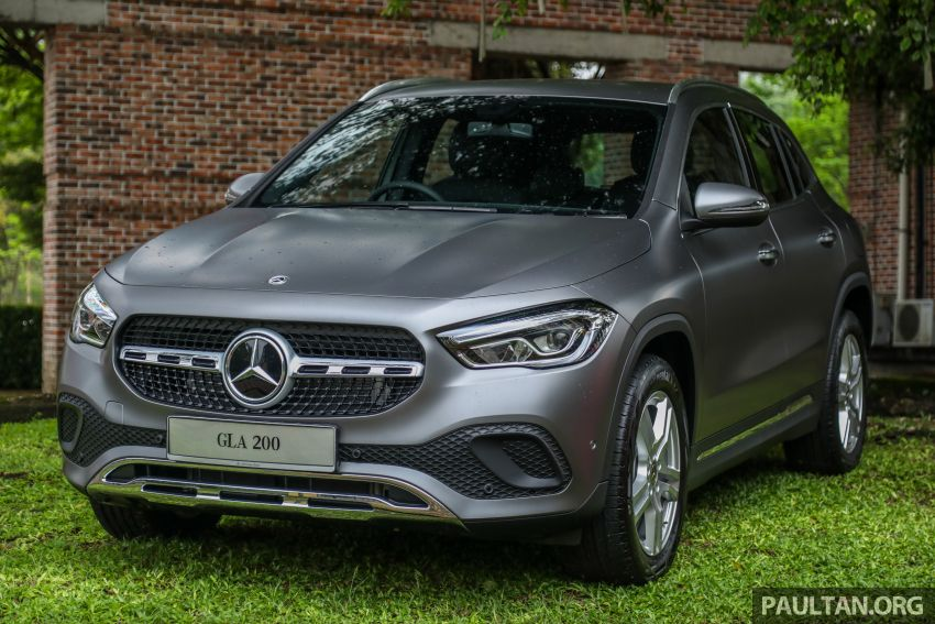 2021 Mercedes-Benz GLA launched in Malaysia – H247 GLA200, GLA250 AMG Line, from RM244k without SST Image #1223498