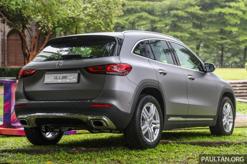2021 Mercedes-Benz GLA launched in Malaysia – H247 GLA200, GLA250 AMG Line, from RM244k without SST Image #1223499