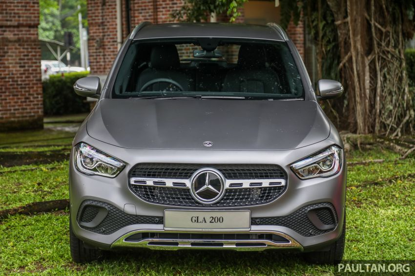 2021 Mercedes-Benz GLA launched in Malaysia – H247 GLA200, GLA250 AMG Line, from RM244k without SST Image #1223501