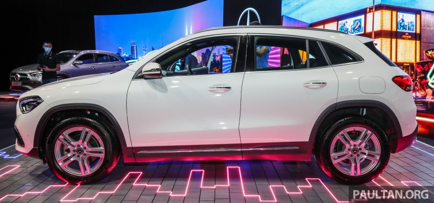 2021 Mercedes-Benz GLA launched in Malaysia – H247 GLA200, GLA250 AMG Line, from RM244k without SST Image #1223476
