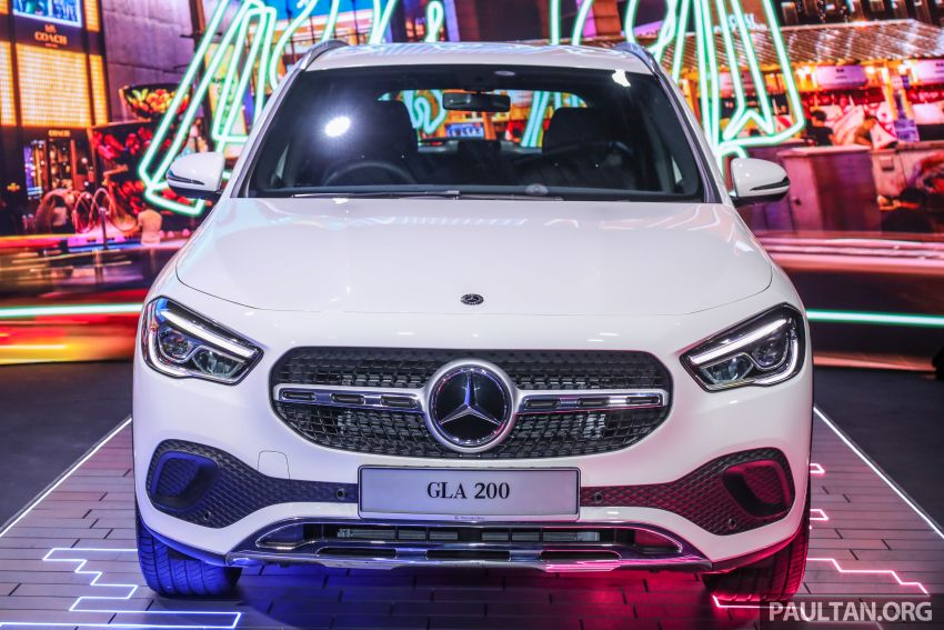 2021 Mercedes-Benz GLA launched in Malaysia – H247 GLA200, GLA250 AMG Line, from RM244k without SST Image #1223477
