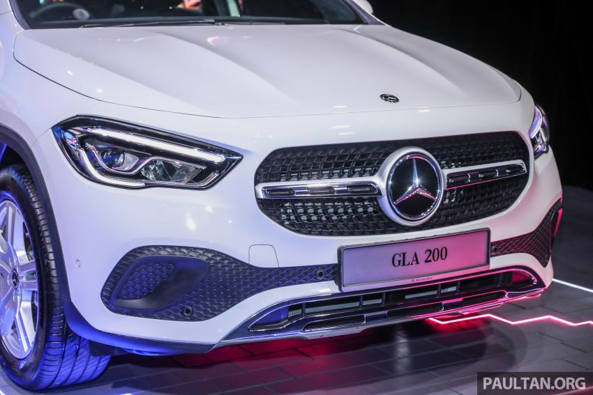 2021 Mercedes-Benz GLA launched in Malaysia – H247 GLA200, GLA250 AMG Line, from RM244k without SST Image #1223478