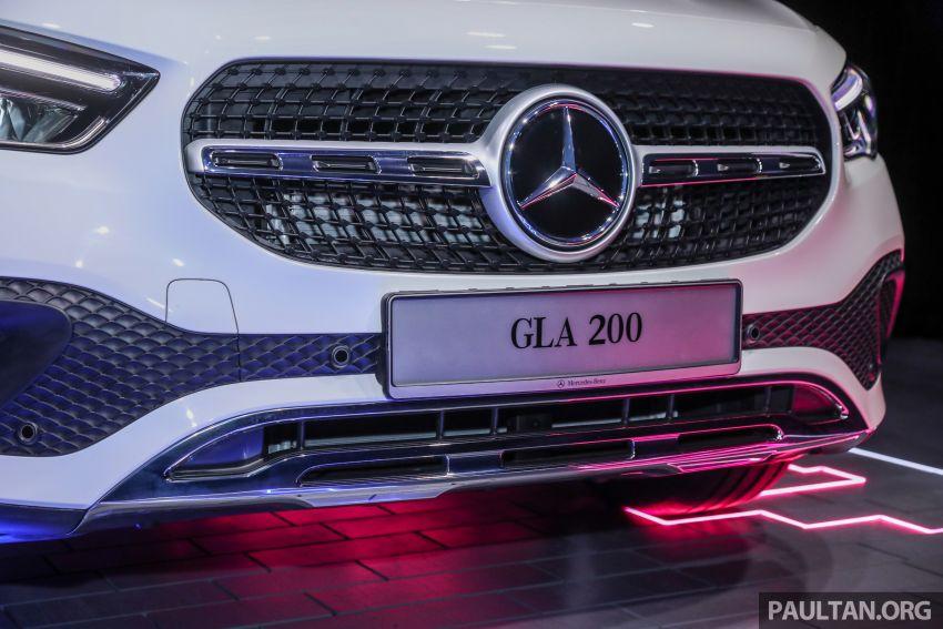 Mercedes-Benz GLA H247 2021 kini di M'sia — GLA 200, GLA 250 AMG Line, dari RM244k tanpa SST Image #1223701