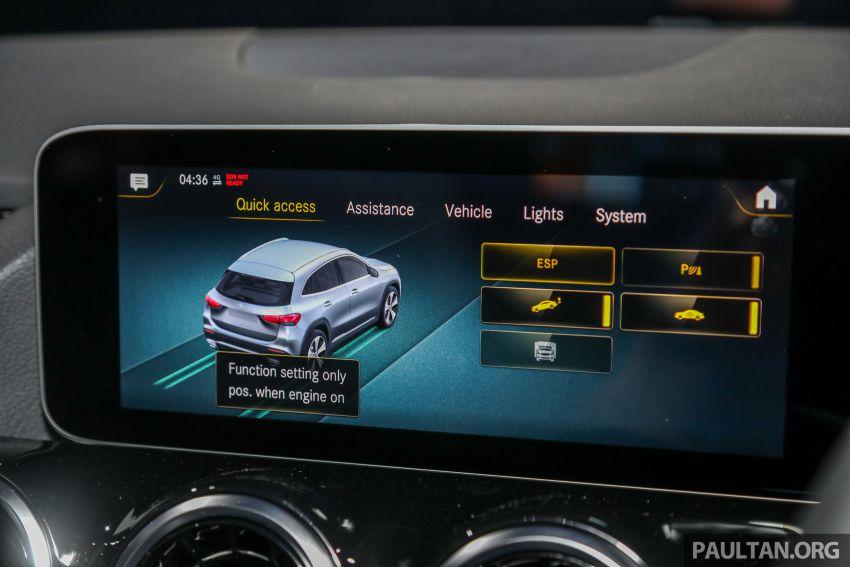 Mercedes-Benz GLA H247 2021 kini di M'sia — GLA 200, GLA 250 AMG Line, dari RM244k tanpa SST Image #1223740
