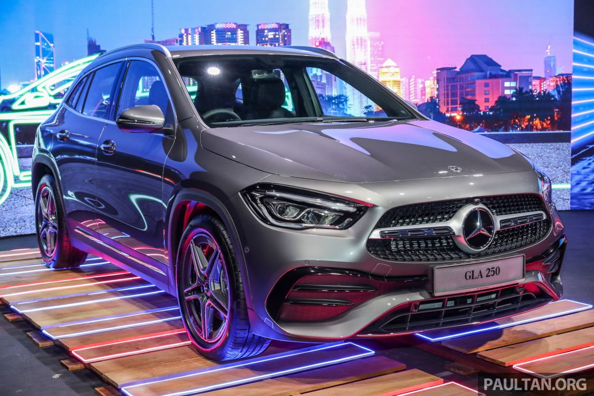 2021 Mercedes Benz Gla Launched In Malaysia H247 Gla200 Gla250 Amg Line From Rm244k Without Sst Paultan Org
