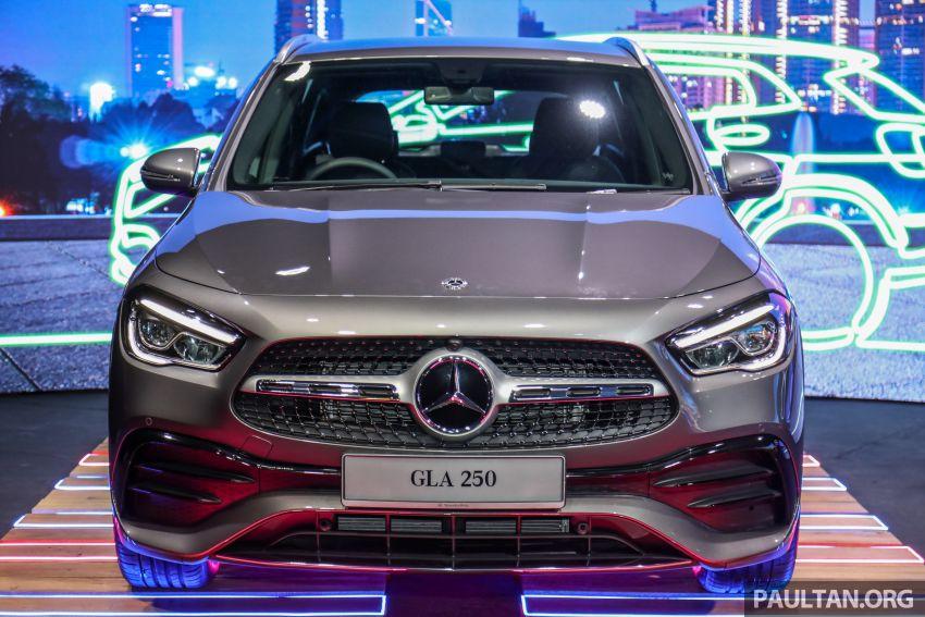 Mercedes-Benz GLA H247 2021 kini di M'sia — GLA 200, GLA 250 AMG Line, dari RM244k tanpa SST Image #1223780
