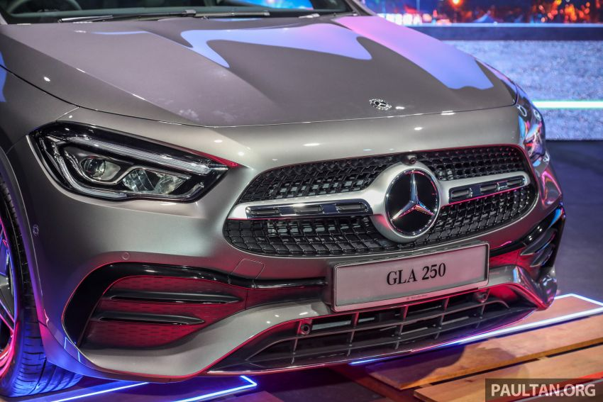 2021 Mercedes-Benz GLA launched in Malaysia – H247 GLA200, GLA250 AMG Line, from RM244k without SST Image #1223557
