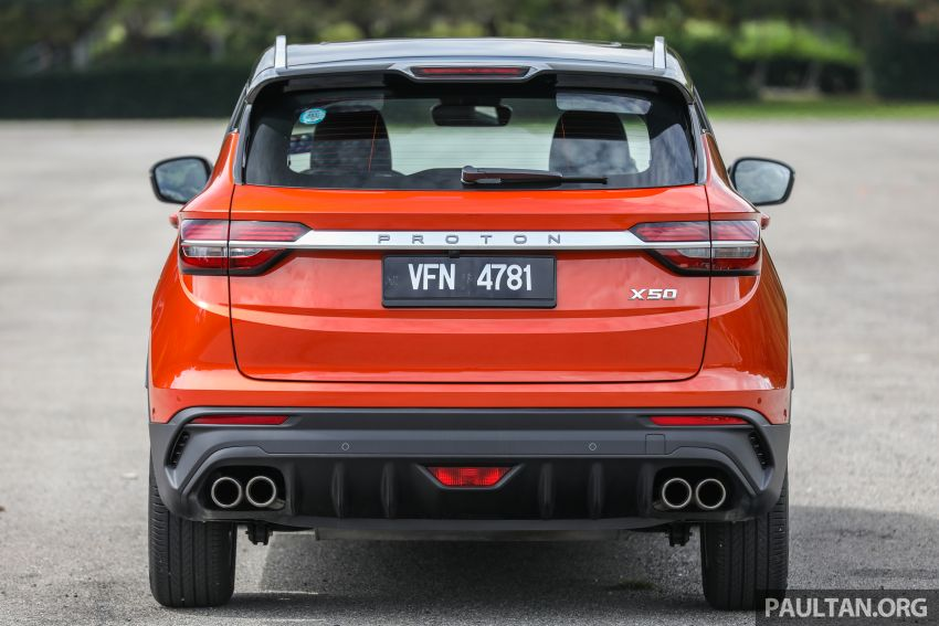 Proton X50 review – detailed look at the pros and cons Image #1228223