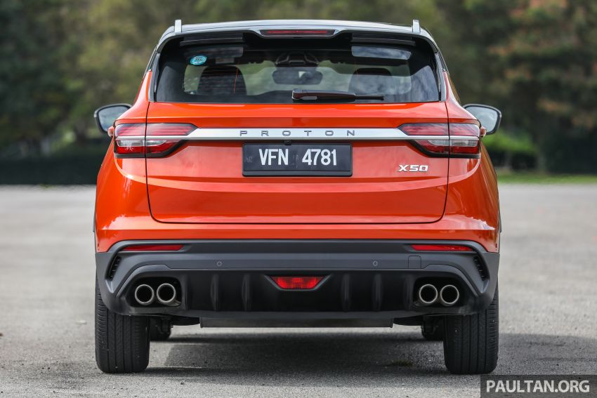 Proton X50 review – detailed look at the pros and cons Image #1228224