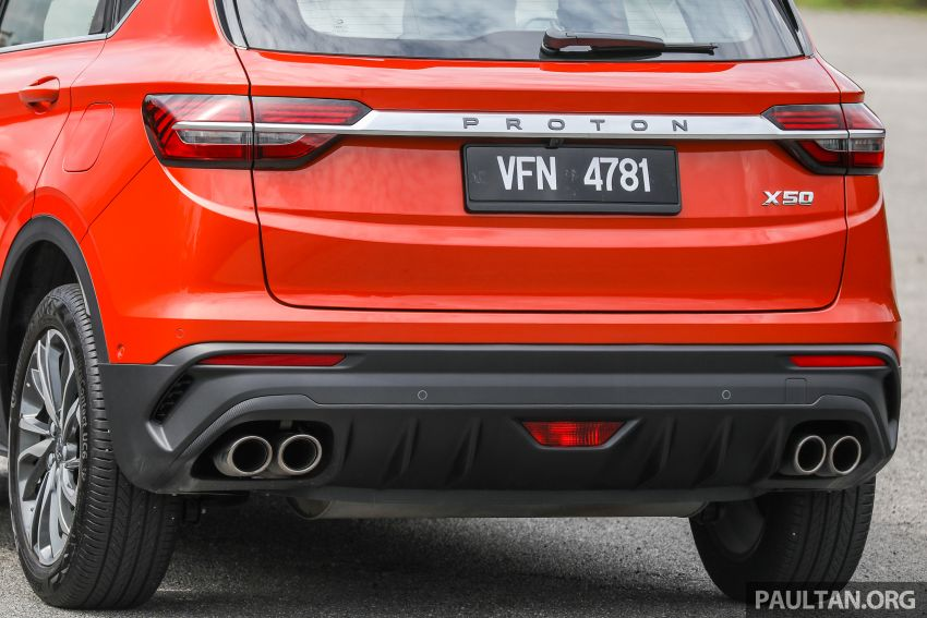 Proton X50 review – detailed look at the pros and cons Image #1228242