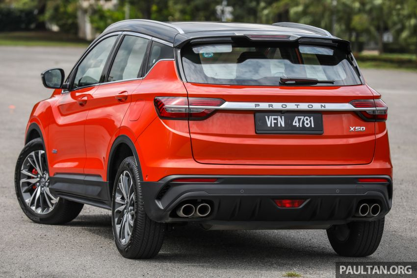 Proton X50 review – detailed look at the pros and cons Image #1228217