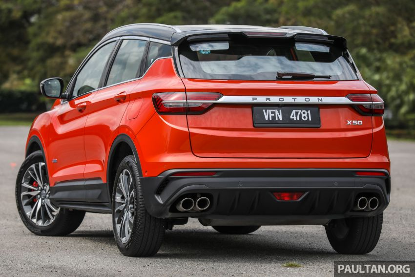 Proton X50 review – detailed look at the pros and cons Image #1228218