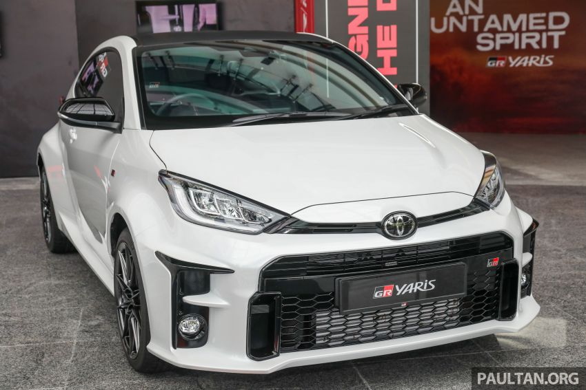 GALLERY: Toyota GR Yaris – over 100 live pics of the 'Made for WRC' 261 PS, 6MT, AWD, RM299k hot hatch Image #1227034
