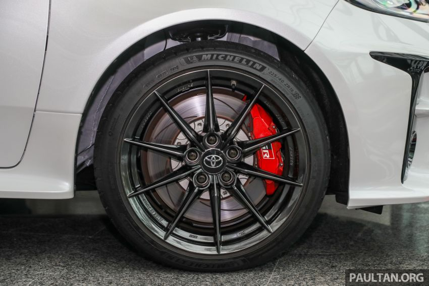 GALLERY: Toyota GR Yaris – over 100 live pics of the 'Made for WRC' 261 PS, 6MT, AWD, RM299k hot hatch Image #1227055