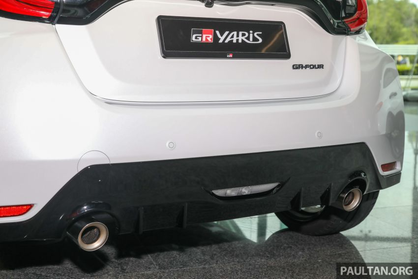 GALLERY: Toyota GR Yaris – over 100 live pics of the 'Made for WRC' 261 PS, 6MT, AWD, RM299k hot hatch Image #1227063