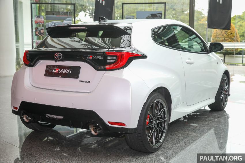GALLERY: Toyota GR Yaris – over 100 live pics of the 'Made for WRC' 261 PS, 6MT, AWD, RM299k hot hatch Image #1227036