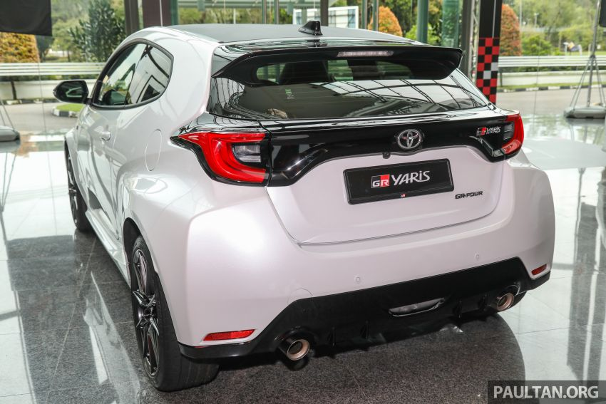 GALLERY: Toyota GR Yaris – over 100 live pics of the 'Made for WRC' 261 PS, 6MT, AWD, RM299k hot hatch Image #1227037