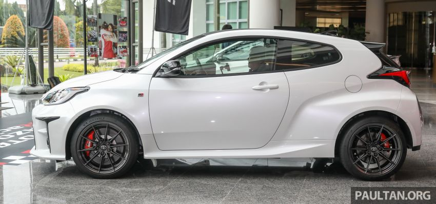 GALLERY: Toyota GR Yaris – over 100 live pics of the 'Made for WRC' 261 PS, 6MT, AWD, RM299k hot hatch Image #1227038