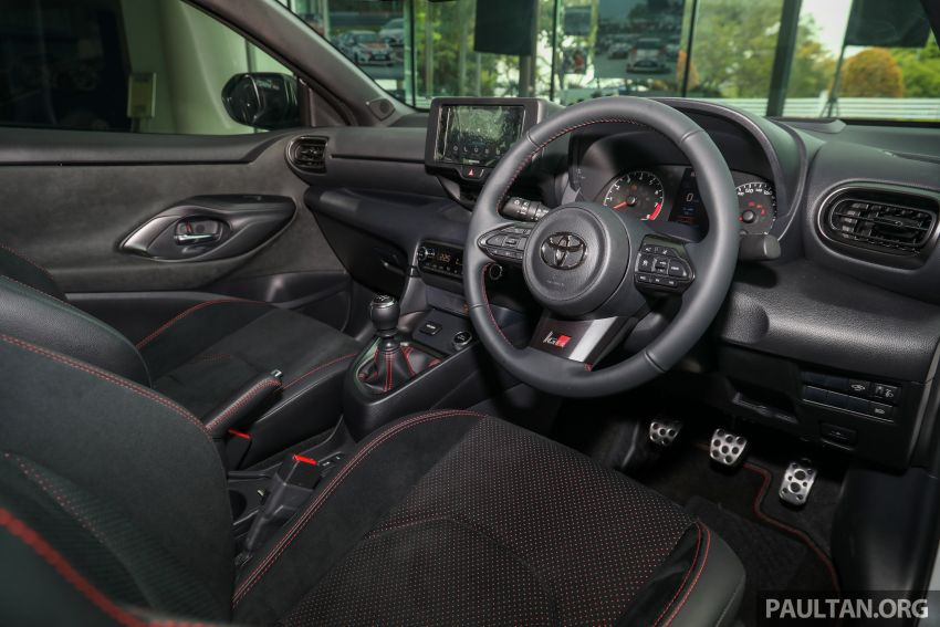 GALLERY: Toyota GR Yaris – over 100 live pics of the 'Made for WRC' 261 PS, 6MT, AWD, RM299k hot hatch Image #1227071
