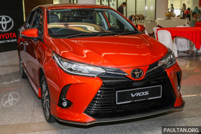 GALLERY: 2021 Toyota Vios facelift – 1.5G from RM88k Image #1226083