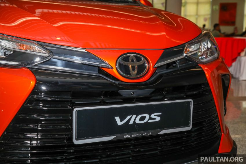 GALLERY: 2021 Toyota Vios facelift – 1.5G from RM88k Image #1226098