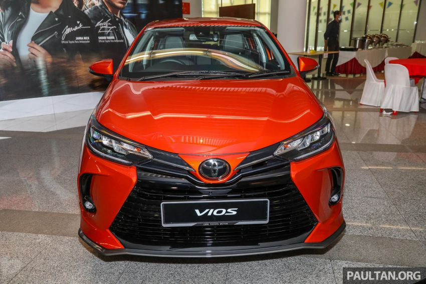 GALLERY: 2021 Toyota Vios facelift – 1.5G from RM88k Image #1226089