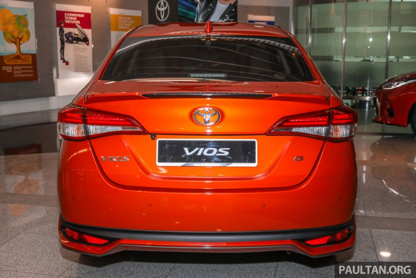GALLERY: 2021 Toyota Vios facelift – 1.5G from RM88k Image #1226091