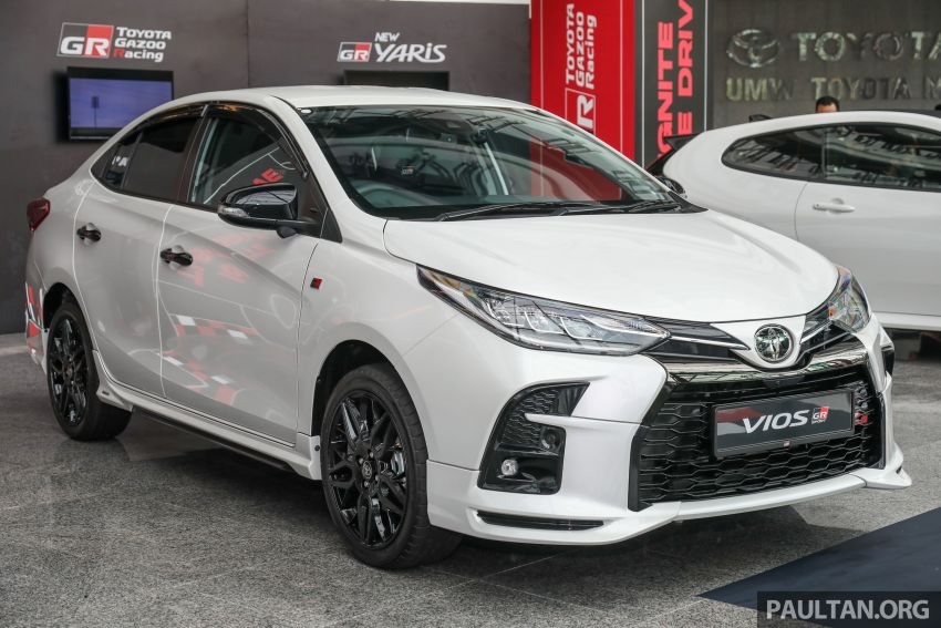 GALLERY: Toyota Vios GR-S – live pics of the RM95k range-topper with 10 CVT ratios, sports suspension Image #1226416