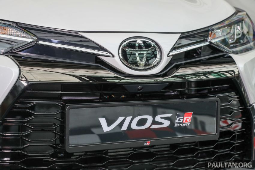 GALLERY: Toyota Vios GR-S – live pics of the RM95k range-topper with 10 CVT ratios, sports suspension Image #1226427