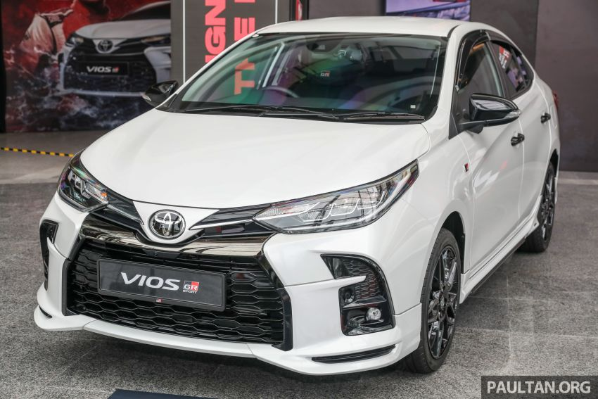 GALLERY: Toyota Vios GR-S – live pics of the RM95k range-topper with 10 CVT ratios, sports suspension Image #1226417