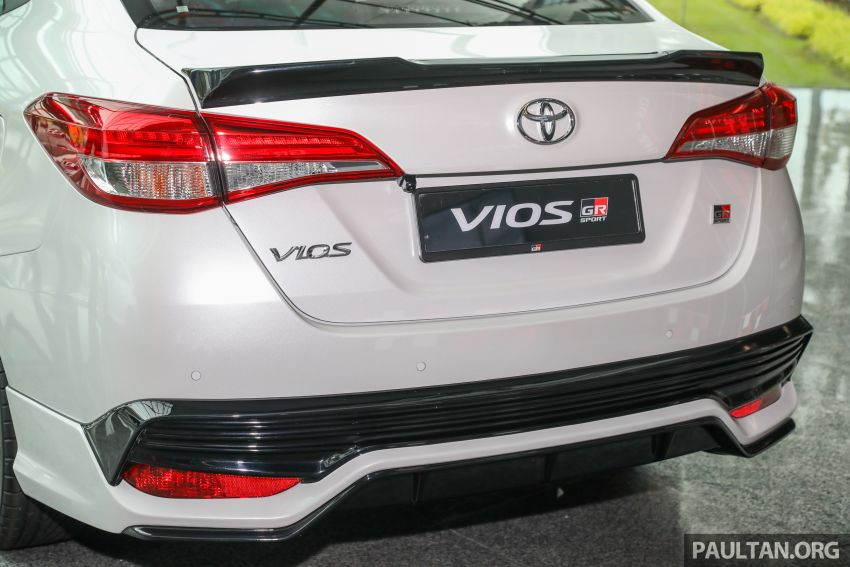 GALLERY: Toyota Vios GR-S – live pics of the RM95k range-topper with 10 CVT ratios, sports suspension Image #1226441
