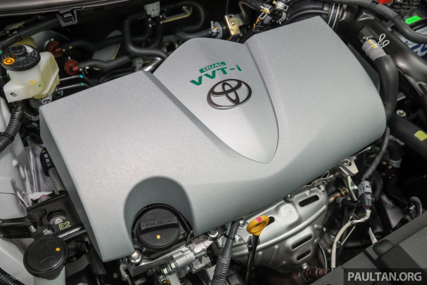 GALLERY: Toyota Vios GR-S – live pics of the RM95k range-topper with 10 CVT ratios, sports suspension Image #1226449