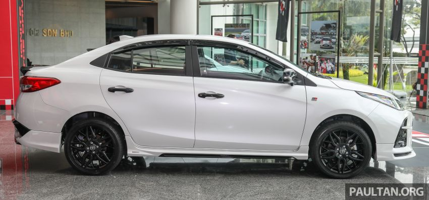 GALLERY: Toyota Vios GR-S – live pics of the RM95k range-topper with 10 CVT ratios, sports suspension Image #1226420