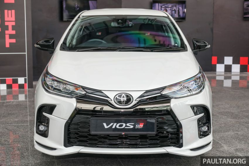GALLERY: Toyota Vios GR-S – live pics of the RM95k range-topper with 10 CVT ratios, sports suspension Image #1226421