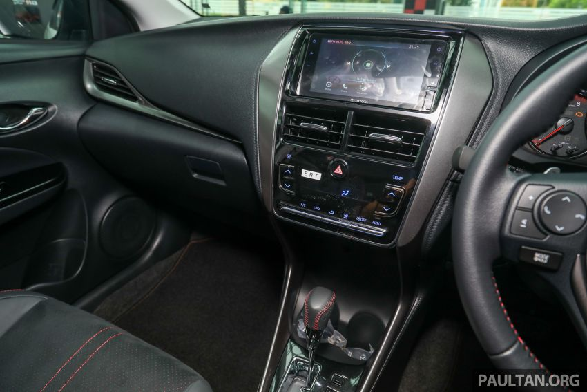 GALLERY: Toyota Vios GR-S – live pics of the RM95k range-topper with 10 CVT ratios, sports suspension Image #1226475