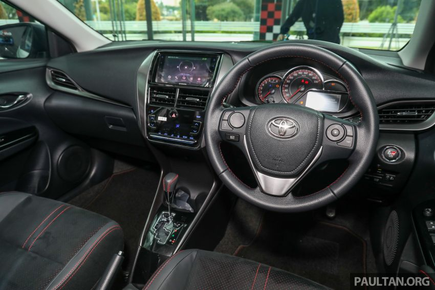 GALLERY: Toyota Vios GR-S – live pics of the RM95k range-topper with 10 CVT ratios, sports suspension Image #1226509