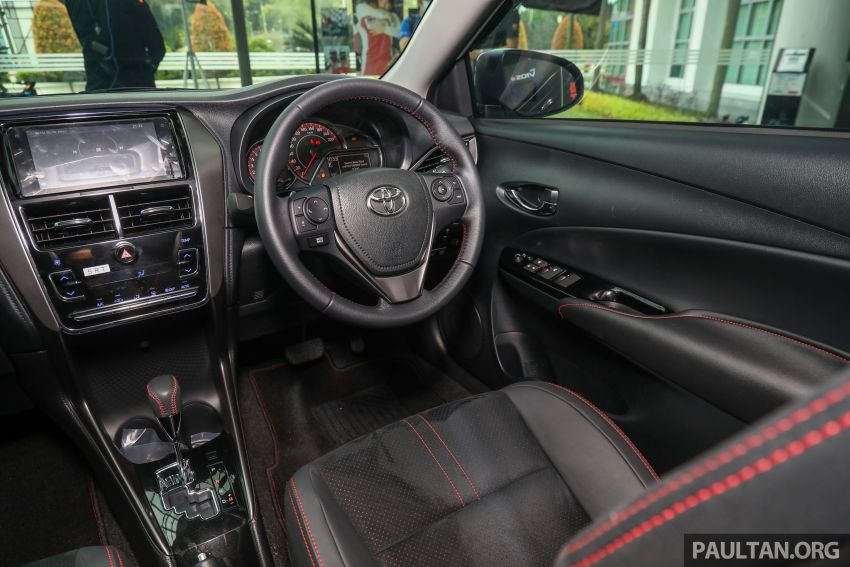 GALLERY: Toyota Vios GR-S – live pics of the RM95k range-topper with 10 CVT ratios, sports suspension Image #1226510