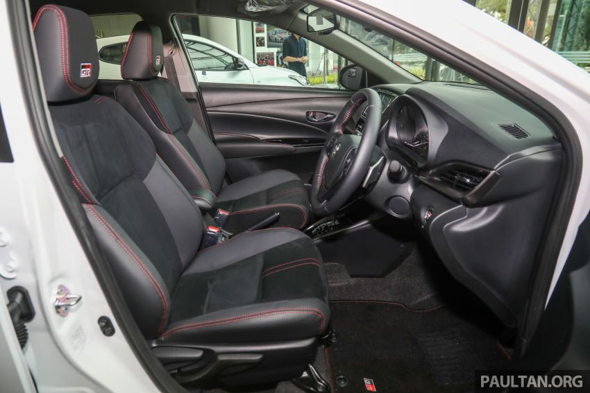 GALLERY: Toyota Vios GR-S – live pics of the RM95k range-topper with 10 CVT ratios, sports suspension Image #1226512