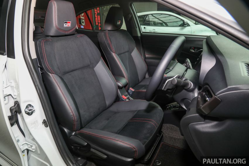GALLERY: Toyota Vios GR-S – live pics of the RM95k range-topper with 10 CVT ratios, sports suspension Image #1226513