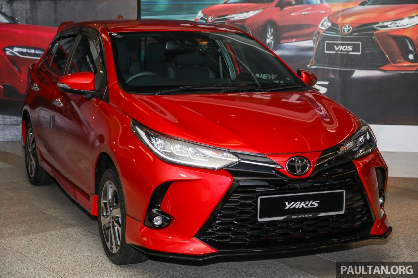 GALLERY: 2021 Toyota Yaris 1.5G facelift – RM84,808 Image #1226548