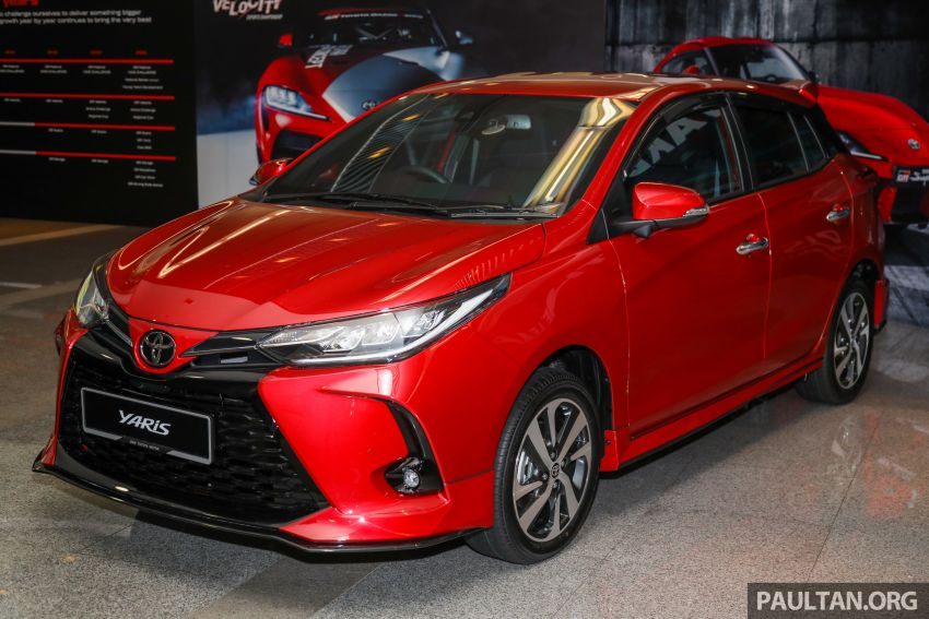 GALLERY: 2021 Toyota Yaris 1.5G facelift – RM84,808 Image #1226549
