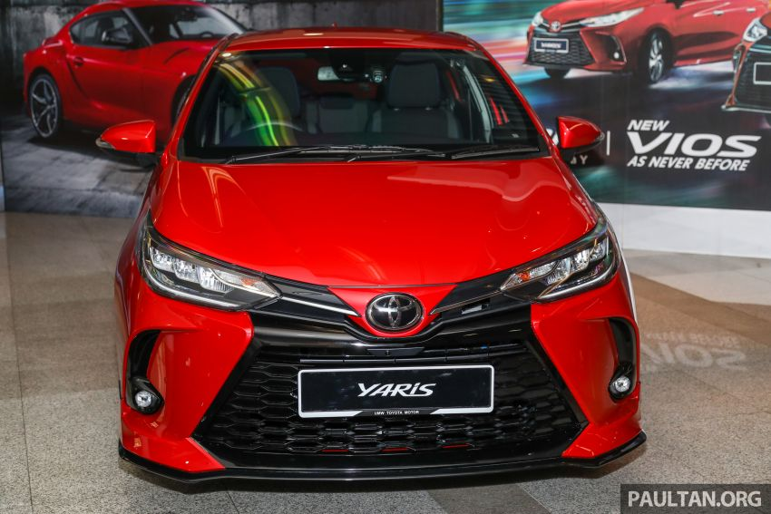 GALLERY: 2021 Toyota Yaris 1.5G facelift – RM84,808 Image #1226553