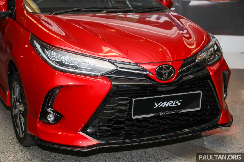 GALLERY: 2021 Toyota Yaris 1.5G facelift – RM84,808 Image #1226557