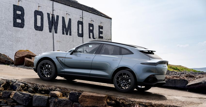 2021 Aston Martin DBX Bowmore Edition: 18 units only Image #1221176