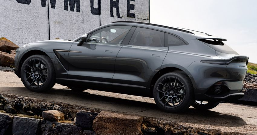 2021 Aston Martin DBX Bowmore Edition: 18 units only Image #1221181