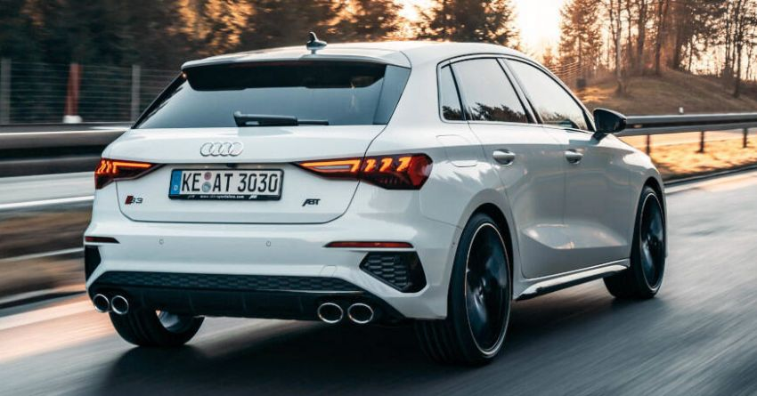 2021 Audi S3 gets ABT tuning – 370 PS and 450 Nm Image #1229150